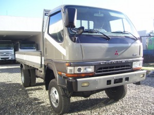 Mitsubishi Canter Latest 4WD Dropside Truck