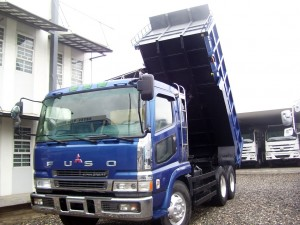 FUSO SUPERGREAT 10-WHEELER DUMPTRUCK