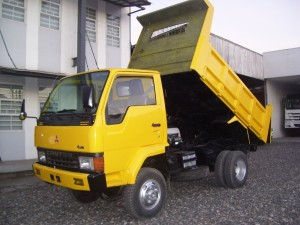 Canter 4WD Dump Truck-SOLD