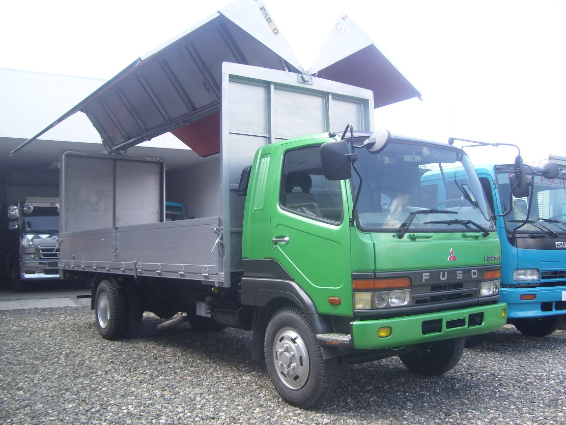 Fuso Fighter Latest Wingvan