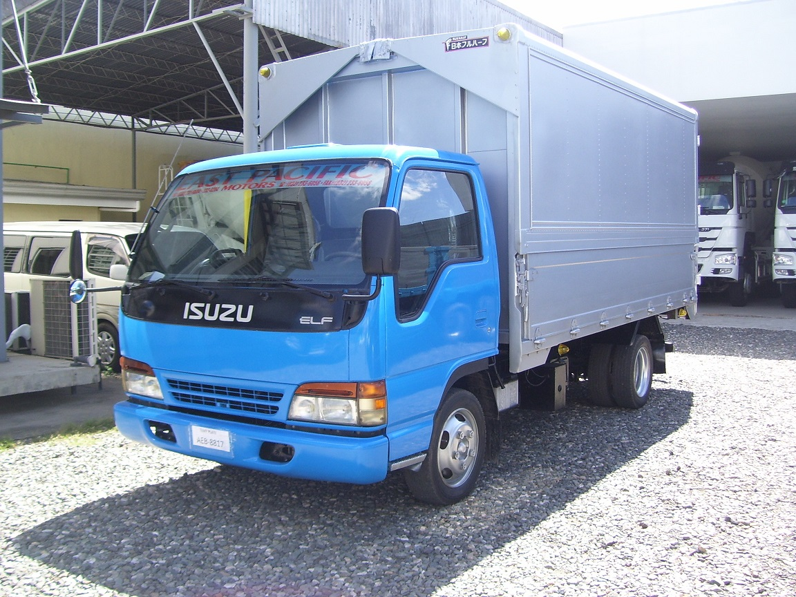 ISUZU ELF GIGA WINGVAN-SOLD