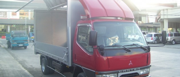 Canter Latest Wingvan with Windbreaker