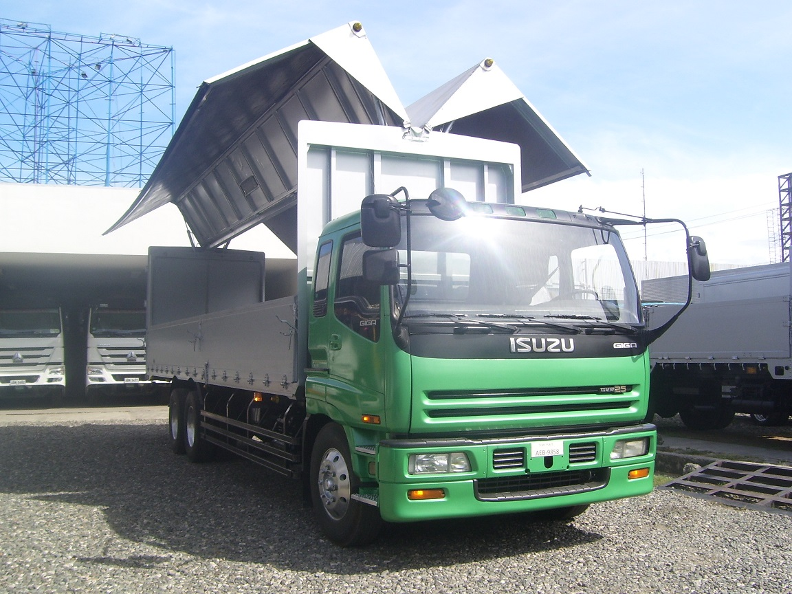 Isuzu 10Wheeler Giga Wingvan -SOLD