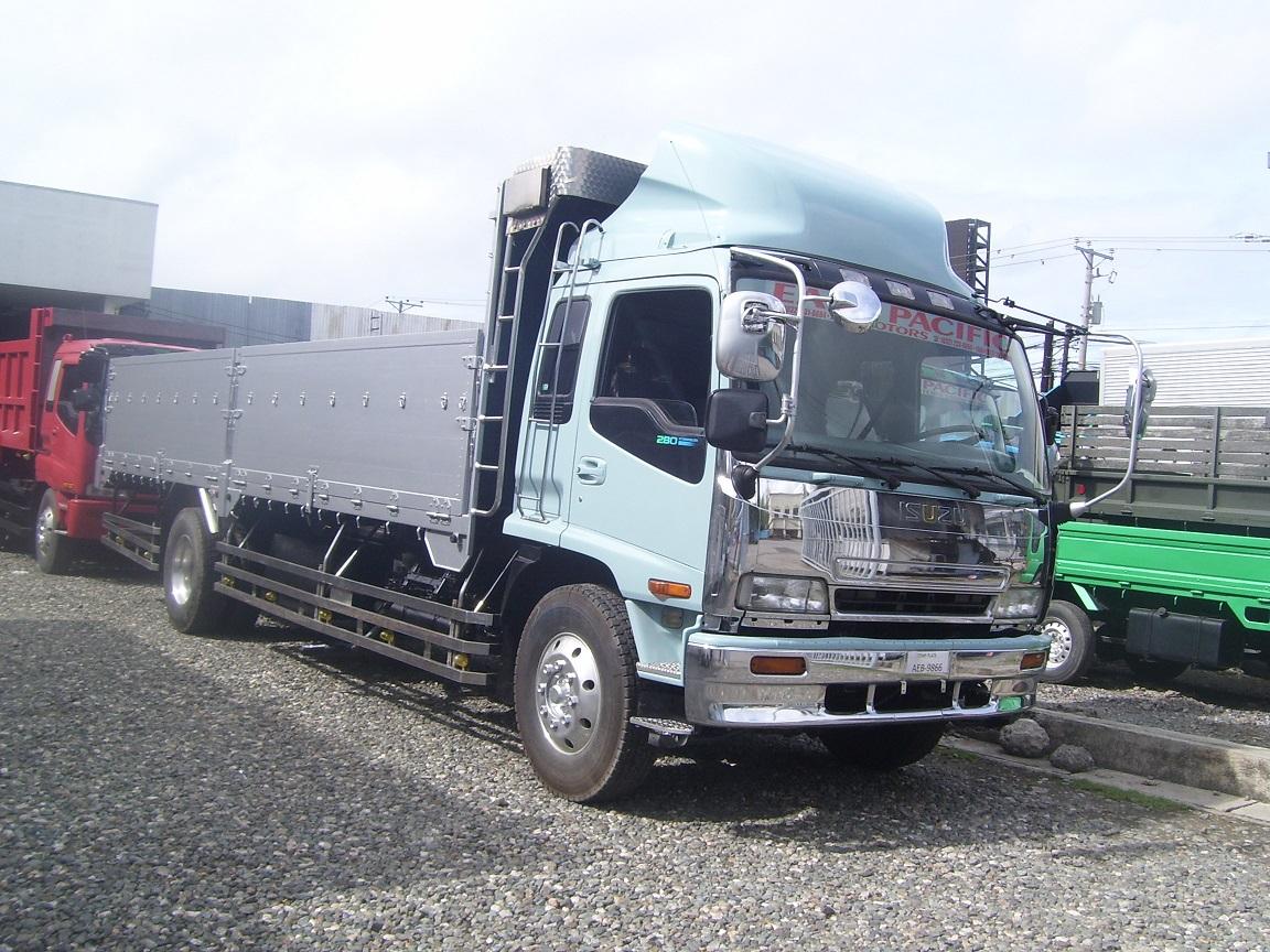 Isuzu Forward 8 Holes Aluminum Siding Sold East Pacific