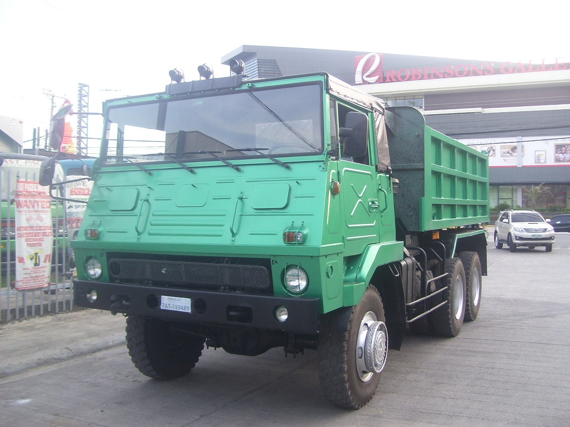 Isuzu 10Wh Military Dumptruck
