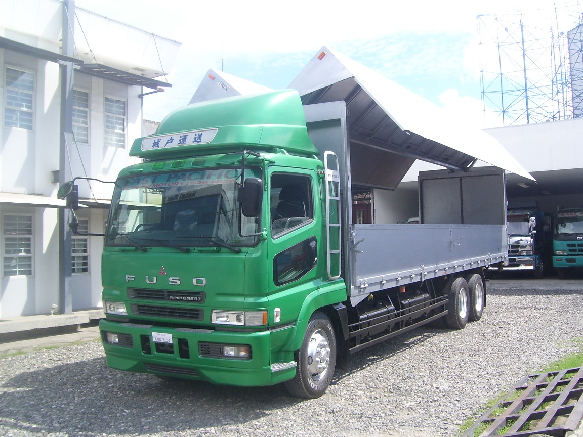 Fuso 10Wh Supergreat Wingvan -SOLD