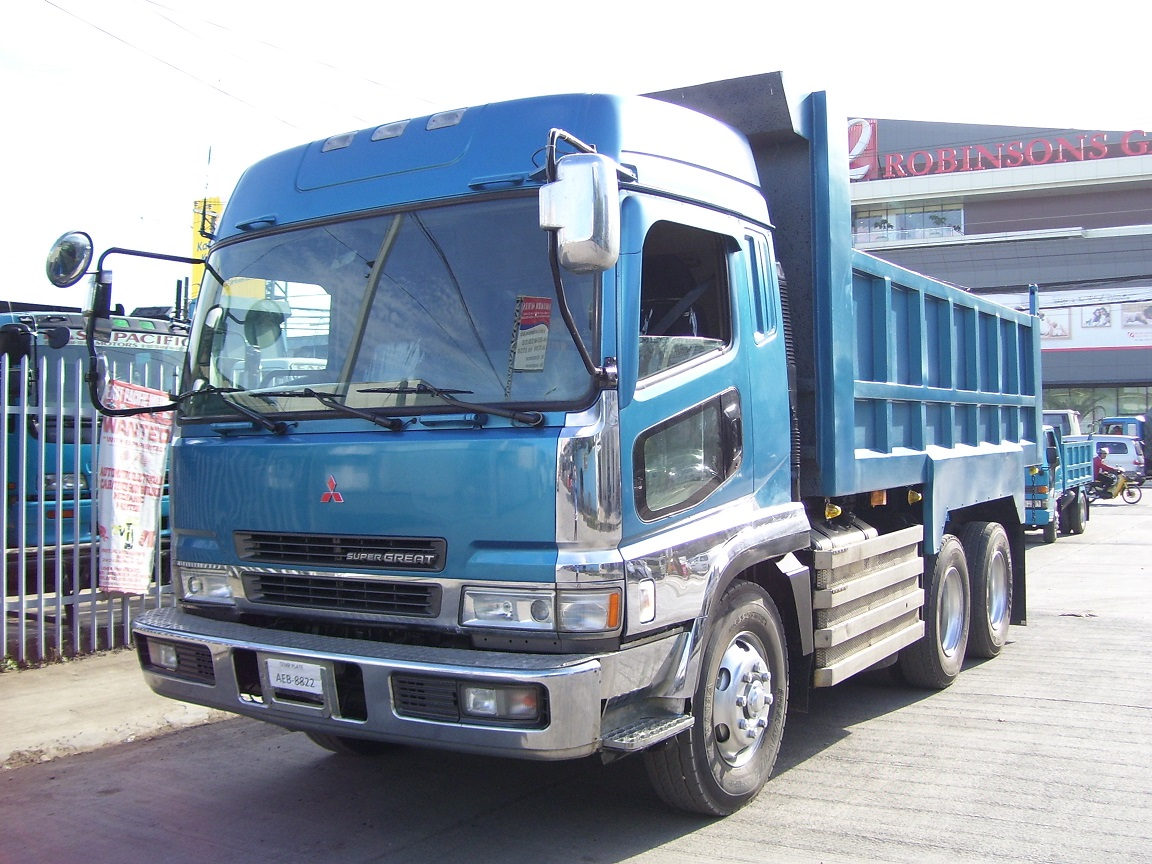 Fuso 10Wheeler Supergreat Dumptruck