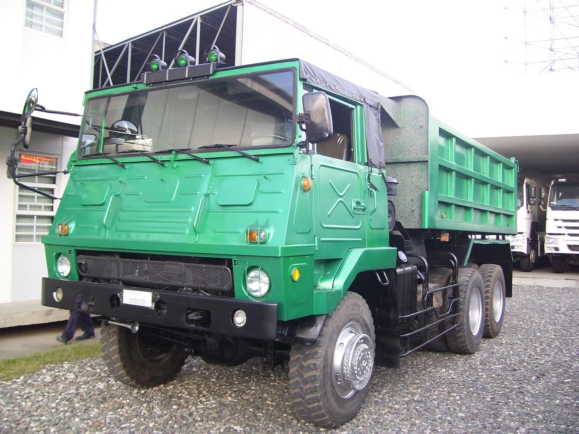 Isuzu 10Wheeler Military Dumptruck