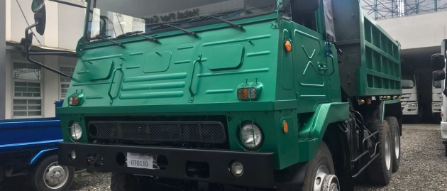 1 unit used Isuzu 10Wheeler Military Dumptruck