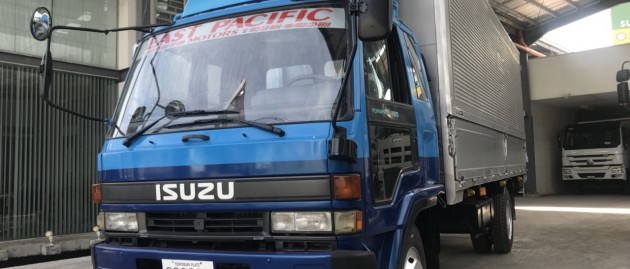 Isuzu Forward Wingvan